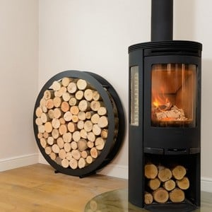 Harrod Circular Steel Log Holder floor Standing