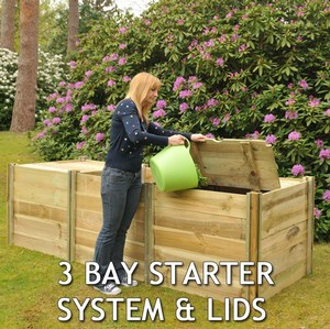 The Harrod Slot Slide Compost Bins Have Been Carefully Designed To Create An Efficient And Dependable Garden Compost Bin, Manufactured From Thick 15mm