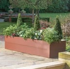 Harrod Metal Raised Beds - Corten Effect