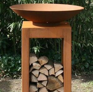 Corten Pedestals For Firebowls