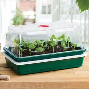 An Ideal Compact Electric Propagator For Growing Vegetables, Flowers Or Herbs, Whether Raising Seeds Or Rooting Cuttings, This Simple Non Thermostatic
