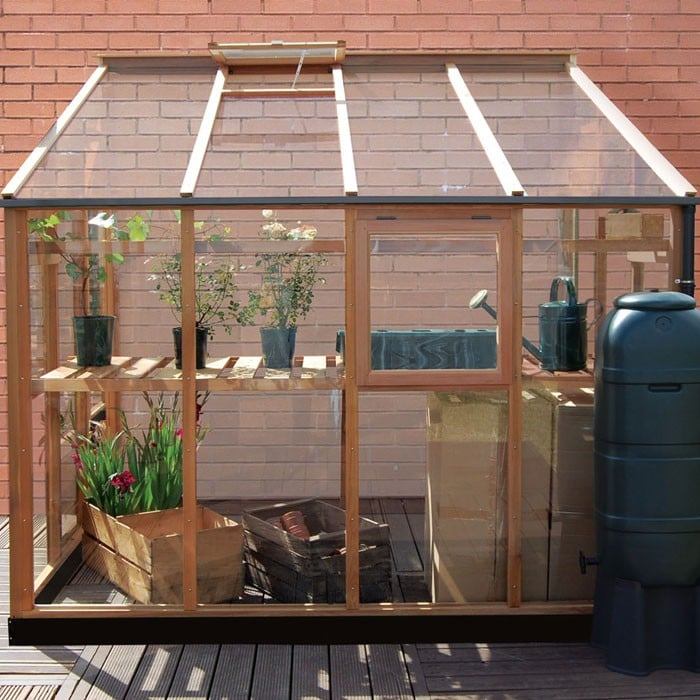 Essential 6ft X 8ft Lean To Greenhouse By Gabriel Ash