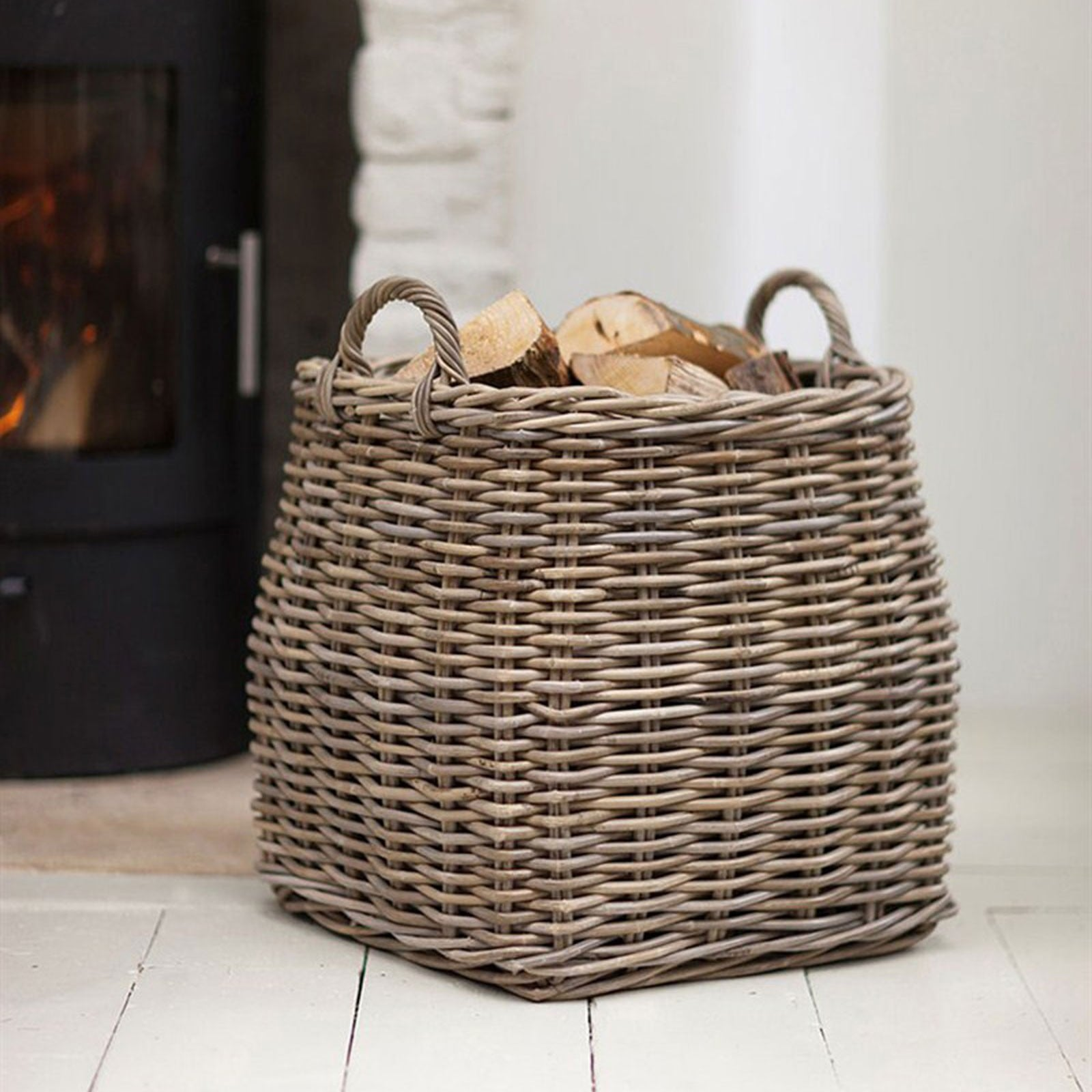 Rattan Tapered Basket