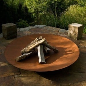 Large Steel Firebowls