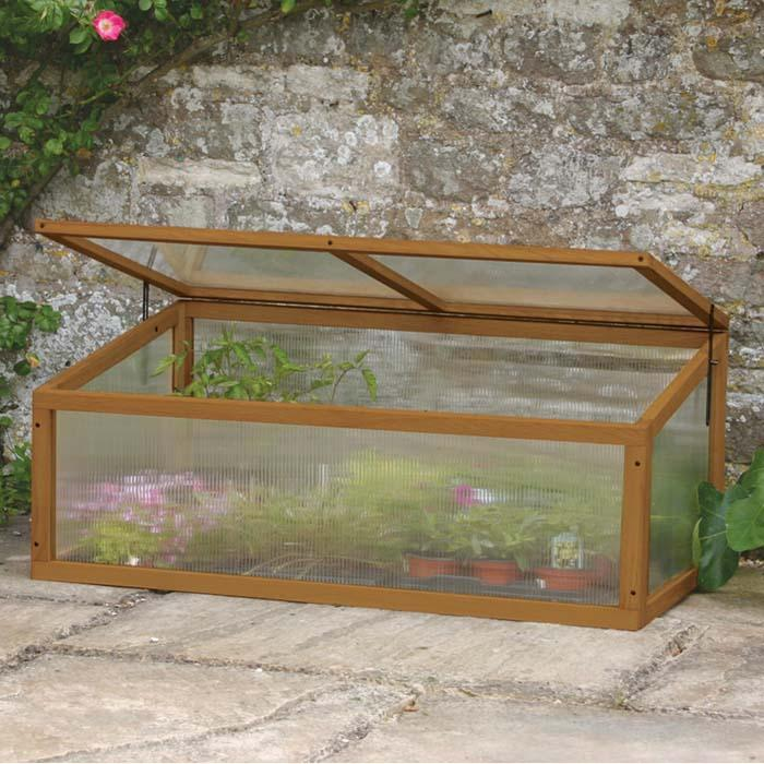 Hardwood Timber Cold Frame - Harrod Horticultural (UK)