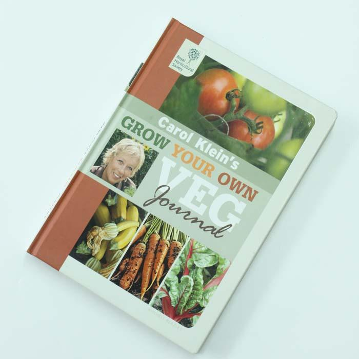 Grow Your Own Veg Journal By Carol Klein