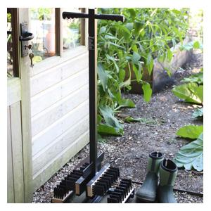 If Your Garden Plot Or Allotment Is Located In A Particularly Muddy Location Then This Freestanding Country Garden Boot Wiper Is Just For You! Many Of
