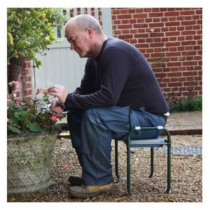 Folding Kneeler And Seats Arent New To The Garden Or Potting Shed But This Deluxe Version Is A Cut Above The Rest Of Garden Kneeler And Seat Combos; I
