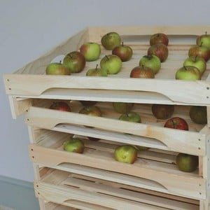Stackable Apple Rack