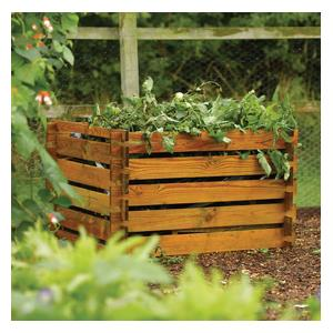 This Wooden Allotment Compost Bin Is A Cost Effective, Stylish Way To Contain Your Compost Heap. Made From Fsc Planks That Easily Slot Together And Pr