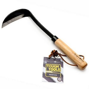 This Sharp Angled Burgon Ball Razor Hoe Is Drawn Through The Soil Towards The Gardener, Effectively Cultivating The Soil And Chopping And Removing All