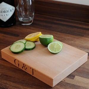 Beech Wood G amp T Board