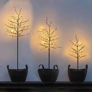 Light Up Twig Tree Decoration Outdoorindoor Use
