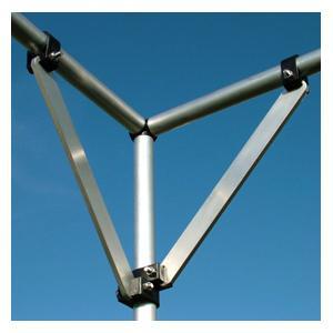 Universal Aluminium Cage Braces