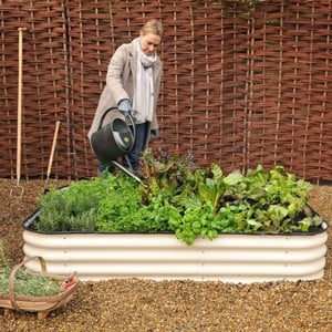 Retro Steel Raised Bed