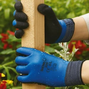 The Showa 306 Waterproof Latex Gloves Are Breathable, Water Repellent And Fully Coated Latex Grip Gloves Which Reduce Perspiration When Its Hot Yet Ar