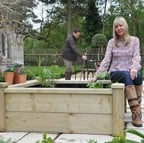 Wooden Raised Bed Pond Kits