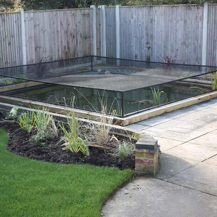 Raised steel pond cover harrod horticultural uk for Raised pond design