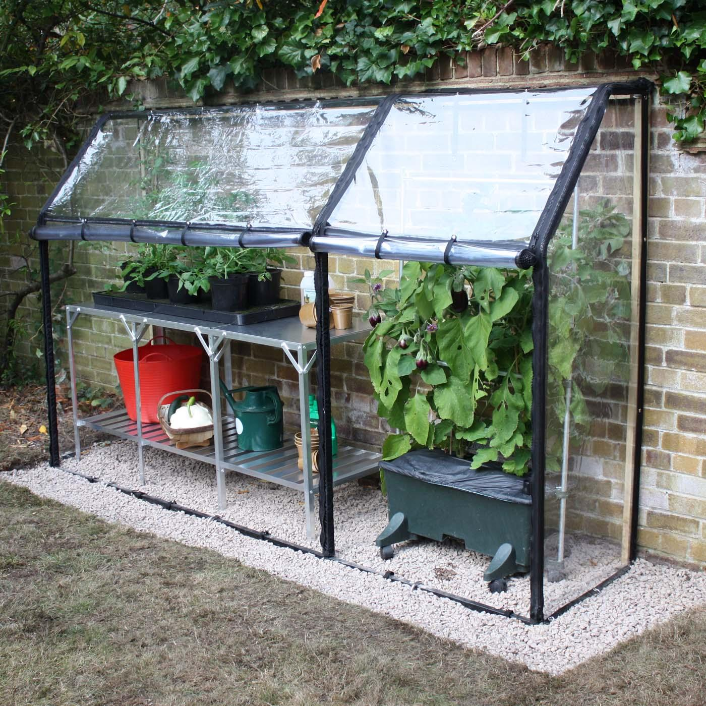 New Lean To Greenhouse