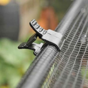 The Net Clips Are Lockable In 3 Positions To Provide A Secure Grip Around The Tube Holding The Netting In Place. Simply Squeeze The Sides Of The Clip