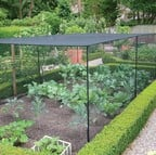 Slot & Lock® Black Vegetable Cage (1.5m H)