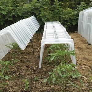 Quick And Easy To Set Up, These Robust Mini Greenhouse Cloche Tunnels Have Thick, Rigid Plastic Walls That Provide Extreme Weather And Pest Protection