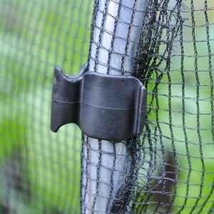 A Pack Of 10 Of These 19mm Plastic Hoop Clips Will Go A Long Way To Keeping Your Home Grown Fruit And Vegetables From Birds, Insects And The Massed Ra