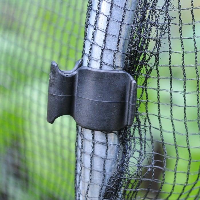 19mm Plastic Hoop Clips Pack Of 10 Harrod