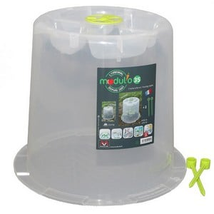 These Mini Greenhouse Forcing Cloches Create A Portable, Protected Environment For Your Early And Late Season Plants Down At The Allotment, In The Kit