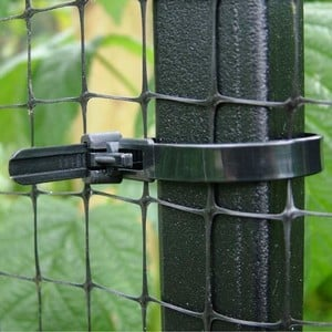 Quick Release, Reusable, Strong Plastic Ties Allowing Easy Detachment From Frame. Multi-purpose Use And 15cm (6