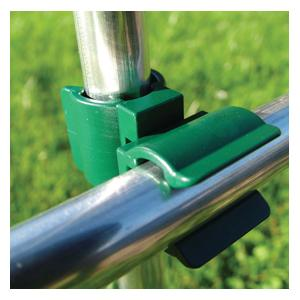 These Adaptable And Highly Versatile Swivel Connector Clips Are Ideal For Creating Garden Cloches, Plant Supports, Runner Bean Or Pea Frames And Even