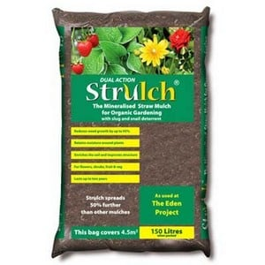 Strulch Garden Mulch - Bulk Deliveries