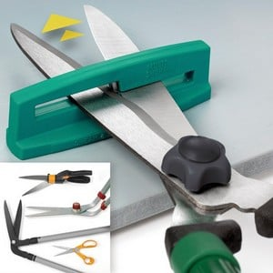The Multi Sharp Sharpening Set Is Ideal For Sharpening Shears, Secateurs, Pruners And Loppers And Safely Resharpens Blunt Tools Sharp As New, Saving O