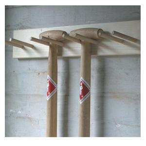 Say Goodbye To Tool Storage Problems With The Help Of The Sneeboer Large Tool Rack; A Wall-mounted, Top Quality Pine And Beech Wooden Rack Which Can B