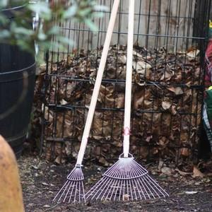 These Sneeboer Leaf Rakes Make Clearing Up Fallen Leaves, Petals And Other Garden Debris A Breeze And With A 20 Tine, 37cm Wide Head Model And A 15cm