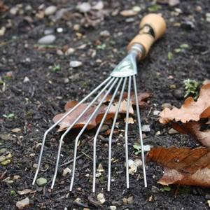 Boasting Seven Stainless Steel Tines And A Cherry Wood Handle, This Sneeboer Hand Rake Will See You Through Plenty Of Leaf Clearing Autumn Autumn Seas