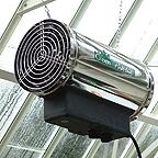 Stainless Steel Phoenix 2.8kW Fan Heater