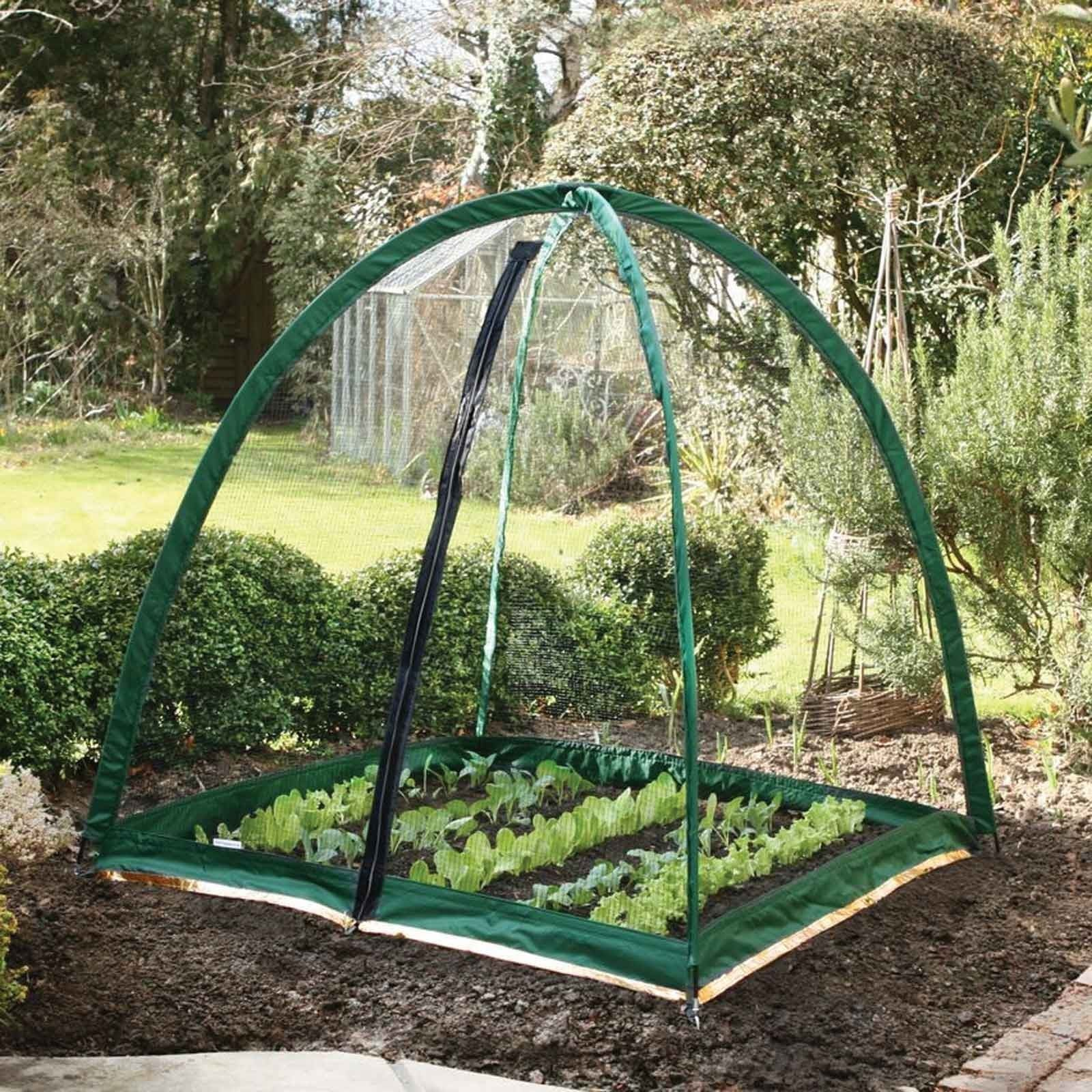 NEW FLEECE COVER GROW TUNNEL CLOCHE INSECT PLANT PROTECTION GARDEN ALLOTMENT VEG