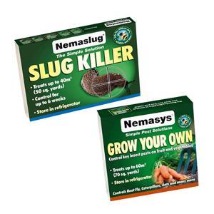 1 X Nemaslug And 2 X Grow Your Own Packs