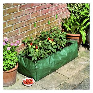 With A Hefty 90 Litre Capacity, This Tough, Reusable Growbag Made Of Heavy Duty Polypropylene Will Help Produce Bumper Crops And Can Be Used Year Afte