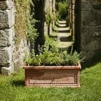 Heritage Patterned Trough Planter (set of 2)