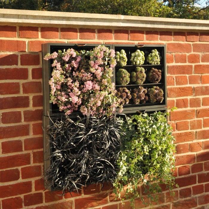 vertical wall planter garden planters at harrod. Black Bedroom Furniture Sets. Home Design Ideas