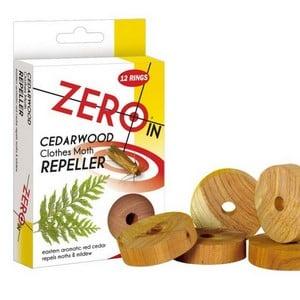 Cedarwood Clothes Moth Repeller Rings