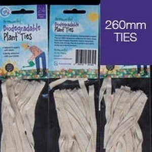 The Greenworthy Plant Ties Are Very Versatile And Have Many Uses. These Plant Ties Are Biodegradable, Organic And Can Be Re-used. The Cotton Ties Are