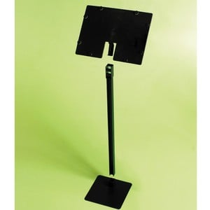 Black A5 Angled Label & Stand
