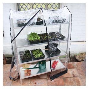 Greenhouse Seed Tray Racks