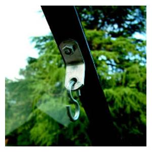The Steel Bracket Is Exceptionally Strong And Is Held Firmly In Position By The Cropped Bolts, One Of Which Is Supplied With Each Bracket. The Bolt Si
