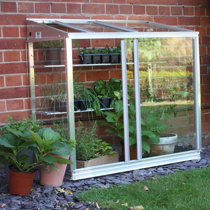 Superior Lean To Mini Greenhouse Harrod Horticultural Uk