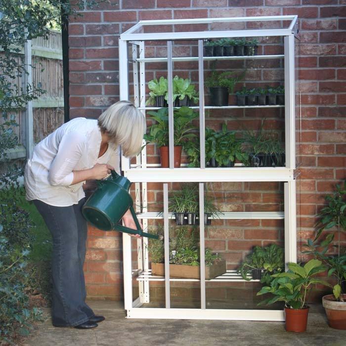 Superior Lean To Double Mini Greenhouse Harrod