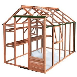 Growhouse Cedar 6ft X 10ft Greenhouse
